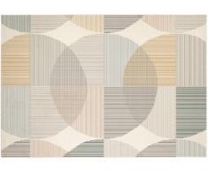 Tapis style contemporain LEIRA - 100% Polypropylène - 120x170cm - Multicolore