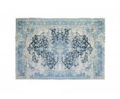 Tapis effet usé BRUGES - 160 x 230 cm - Bleu