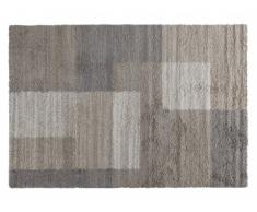 Tapis AGATA - polypropylène - 160x230 cm - Taupe