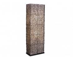 Lampadaire SHEHERAZADE en rotin - H.150 cm