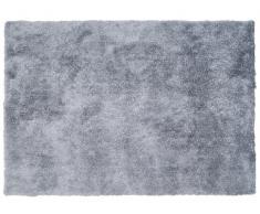 Tapis shaggy GLITTER - Argenté - 120*170 cm