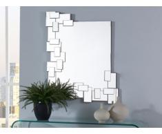 Miroir mural géométrique ACASTA - 90 x 70 cm
