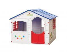 Maisonnette pour enfant LITTLE HOUSE - L130 x l106 x H115 cm