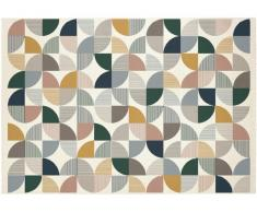 Tapis style contemporain ARGANIL - 100% Polypropylène - 120x170cm - Multicolore