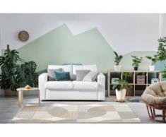 Tapis style contemporain LEIRA - 100% Polypropylène - 160x230cm - Multicolore