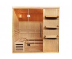 Sauna traditionnel Finlandais 4/5 places FABORG vitré - 200x180x200