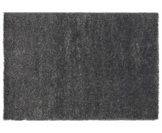 Tapis shaggy SOFTY - Polypropylène - 200x290 cm - Gris anthracite