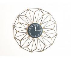 Horloge géométrique YSIA - Fer - D.61 cm