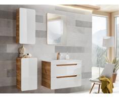 Ensemble ARUBA - meubles de salle de bain - blanc 80cm