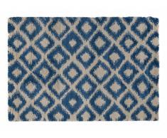 Tapis FEDORA - polypropylène - 160x230 cm - Bleu