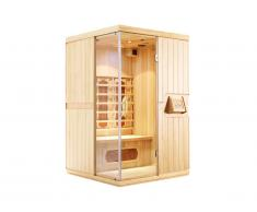Sauna Infrarouge 2 places NARVIK - L120*P100*H190 cm - 2100W