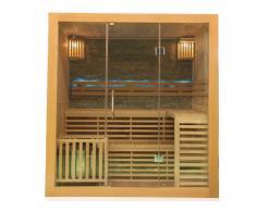 Sauna traditionnel 3/4 places L180 x l140 x H200cm OCTABIUS - 6000W
