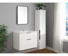 Ensemble MAEVA - meubles de salle de bain - blanc