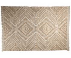 Tapis ISAY - 100% Coton - 160*230 cm - Beige