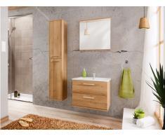 Ensemble KAYLA - meubles de salle de bain 60cm - effet bois