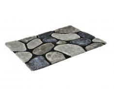 Tapis shaggy PIETRA gris - polyester - 160*230cm