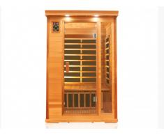 Sauna infrarouge 2 places OKSANA - L120*P100*H190cm - 1750W