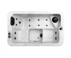 Spa 3 places blanc perlé CENOTE - 13 jets - L175xP110xH72 cm - système Balboa