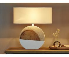 Lampe à poser BEYLA en bois - H.61 cm