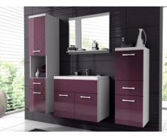Ensemble CLAUDIA - meubles de salle de bain - laqué lilas