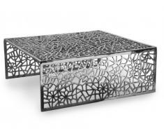 Table basse SPLENDEUR en aluminium - Coloris argent