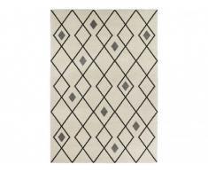 Tapis style berbère DURANGO - Polypropylène - 160x230 cm - Ecru