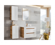 Ensemble ARUBA - meubles de salle de bain - blanc 60cm