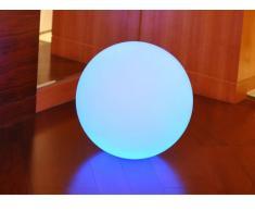 Lampe à poser CIRRUS II - couleurs changeantes - Diam. 40 cm - 48 LEDs