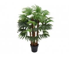 Arbre artificiel palmier RHAPIS tronc naturel - H.93 cm