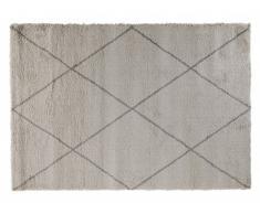 Tapis style berbère GAVRIL - polypropylène - 160x230 cm - Ecru