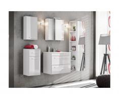Ensemble MOLLY - meubles de salle de bain - blanc