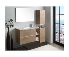 Ensemble ORANE - meubles de salle de bain - effet bois