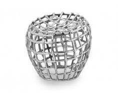 Tabouret Design PRECIOUS de la marque INSIDE ART en aluminium
