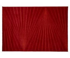 Tapis PALMYRE - Polypropylène - 160x230 cm - Rouge