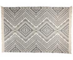 Tapis ISAY - 100% Coton - 160*230 cm - Gris