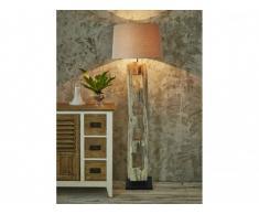 Lampadaire ZELDA en bois d'acacia - H.175 cm - coloris naturel
