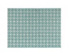 Tapis intérieur ou extérieur SIESTA - 200 x 290 cm - Bleu clair