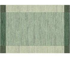 Tapis vintage intérieur et extérieur DETENTE - Polypropylène - 160 x 230 cm - Vert