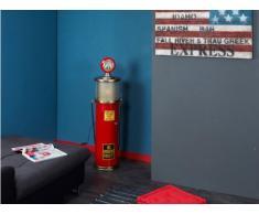 Lampe de décoration et range-CD ELDORADO - 112cm - coloris rouge