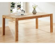 Table à manger OLINKA - 6 couverts - Chêne massif