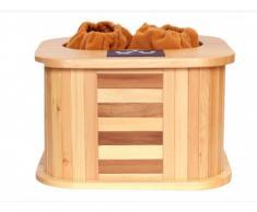 Sauna infrarouge pour pieds KIRVY - L39 x l35 x H25.5cm - 145W