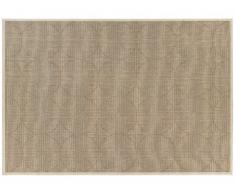 Tapis style maison de campagne GRENELLE - 100% Polypropylène - 160x230 cm - Naturel