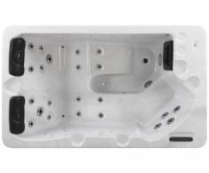 Spa 2/3 personnes - TEKAH blanc perlé - 16 jets - L185*P75*H110 cm