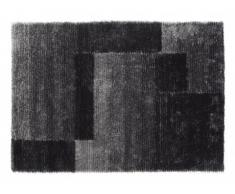 Tapis shaggy NAGANO anthracite - polyester - 160*230cm