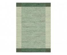 Tapis vintage intérieur et extérieur DETENTE - Polypropylène - 200 x 290 cm - Vert