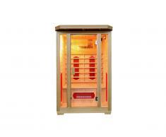 Sauna Infrarouge 2 places Gamme prestige OSLO II - L120*P105*H190cm - 1750W