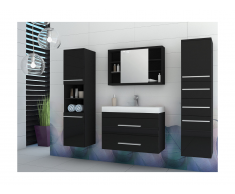 Ensemble MARYLIN - meubles de salle de bain - noir