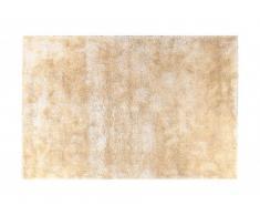 Tapis shaggy VANILLIA beige - polyester - 120*170 cm