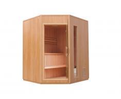 Sauna Traditionnel Finlandais 3/4 places Gamme prestige ODENSE II - L150*P95*H200cm