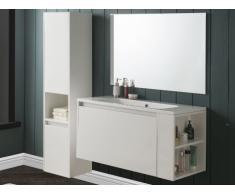 Ensemble BEHATI - meubles de salle de bain - blanc laqué